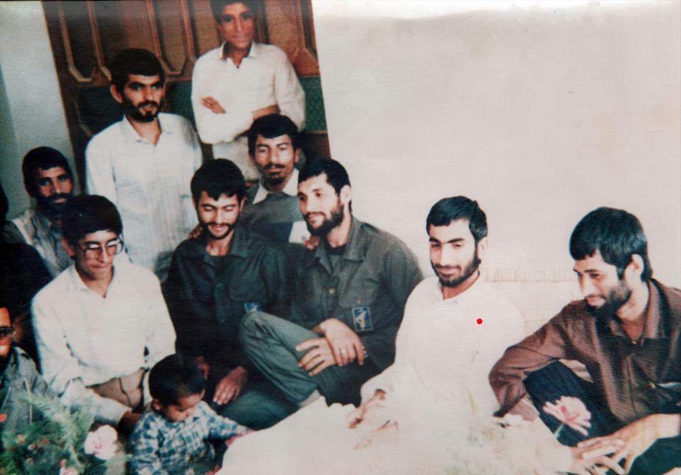 تصویری از آلبوم خانوادگی حاج قاسم میرحسینی-شهرستان زابل بخش جزینک
